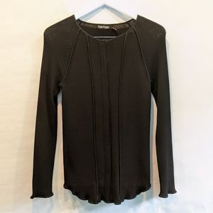 Tom Ford black knitted top L in EUC